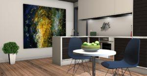 nowe mieszkania Warszawa Włochy - projekt wnętrza